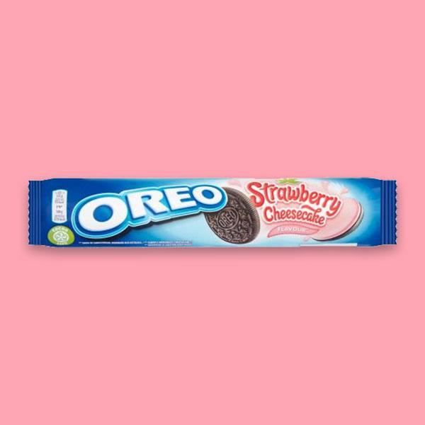 16 X Cadbury Oreo Strawberry Cheesecake biscuit packs £5 @ Yankee Bundles