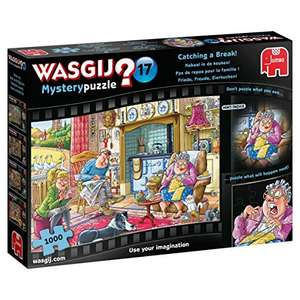 Wasgij JUM19175 Mystery 17-Catching a Break. 1000 Piece Jigsaw Puzzle £7.98 Amazon Prime / £12.47 Non Prime