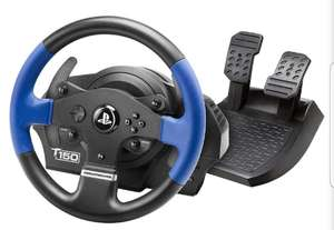 Thrustmaster T150 Force Feedback Steering Wheel and Pedals For PS4/PS5 £129.99 @ Box