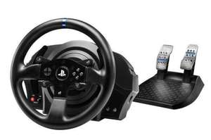 Thrustmaster T300RS Force Feedback Steering Wheel and Pedals Works With PS4/PS5 £249.99 @ Box