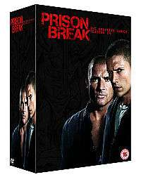 Prison Break - Season 1-4 DVD (used) £3.23 delivered with code @ World of Books