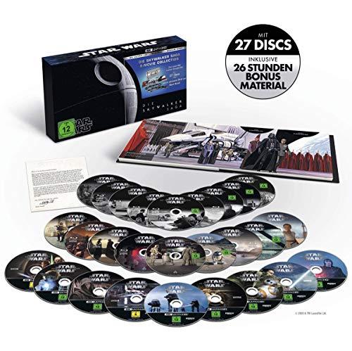 Star Wars: The Skywalker Saga - Limited Edition Complete Box Set UHD [Blu-ray] [2019] [Region Free] £117.03 (UK Mainland) Amazon Germany