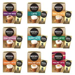 Nescafe Gold Instant Coffee 8 x Sachets (All Flavours) - £1.25 per pack @ Morrisons