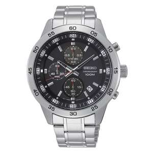 Seiko Chronograph Men's Stainless Steel Bracelet Watch £63.99 at H.Samuel (with code)