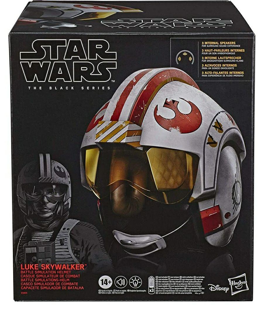 Star wars Luke Skywalker Hasbro Blackseries Battle Helmet £79.99 @ Amazon