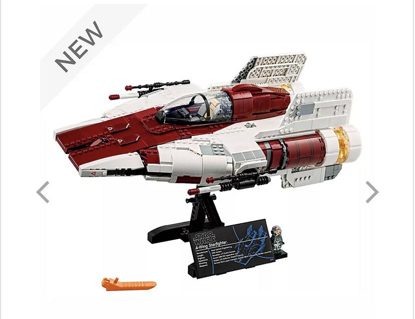 LEGO Star Wars A-wing Starfighter Set 75275 - £143.99 @ shopDisney