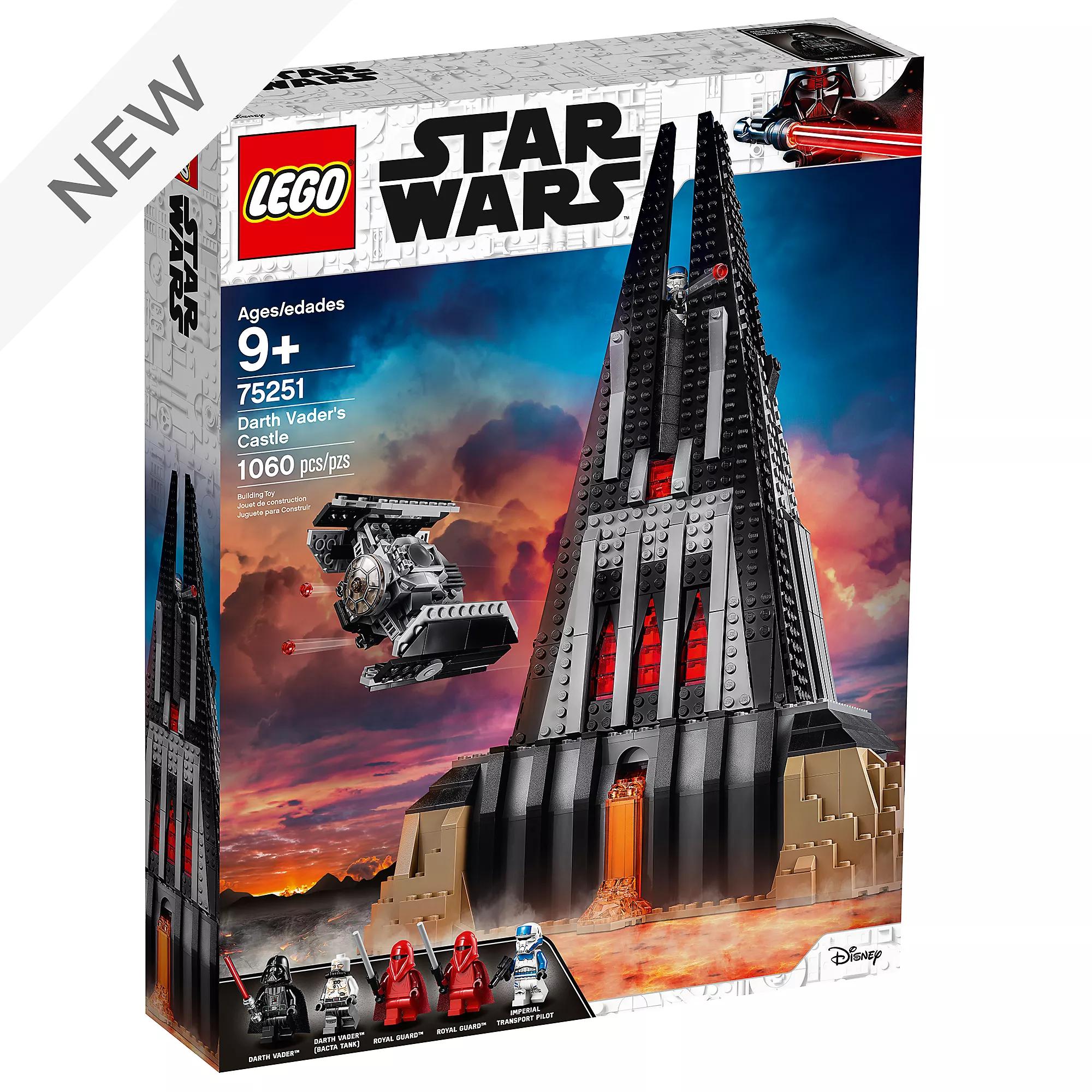 LEGO Star Wars Darth Vader's Castle Set 75251 - £95.99 at shopDisney