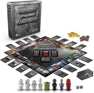 Monopoly: Star Wars The Mandalorian Edition Board Game £19.99 Amazon Prime Only with Amazon Treasure Truck