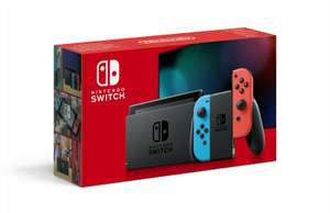 Nintendo Switch Neon Red and Blue Ext. Battery Life Console - £253.99 delivered @ Shopto / eBay