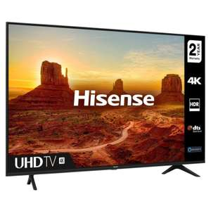 Hisense H55A7100FTUK 55 4K Ultra HD HDR Smart LED TV - £339 with Code @ hughesdirect / eBay