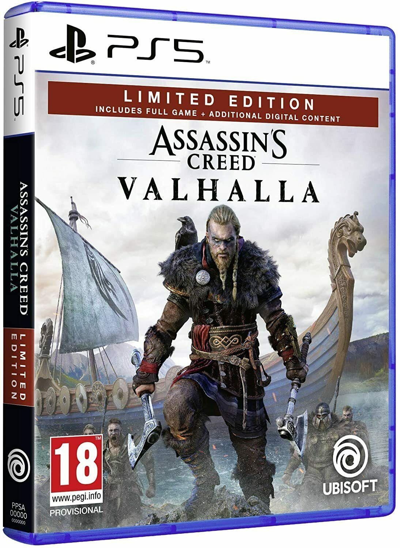 Assassins Creed Valhalla - Limited Edition (PS5) £27.99 Delivered @ mobiledealsuk via ebay