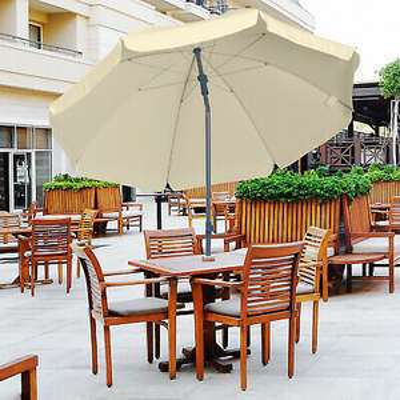 Outsunny 2.2M Outdoor Beach Umbrella Garden Parasol Sun Shade Top Tilt Canopy - £32.79 with code @ Outsunny eBay