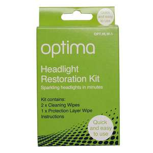 Optima Headlight Wipe Restoration Kit Now £2.99 Free click & collect / delivery bis £3.95 or Free with £15 spwdm @ EuroCarParts