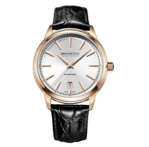 Men's Dreyfuss And Co. DGS00162/02 1890 Swiss 40mm Automatic Leather Strap Watch X80273 - £347.50 at Chapelle Jewellery