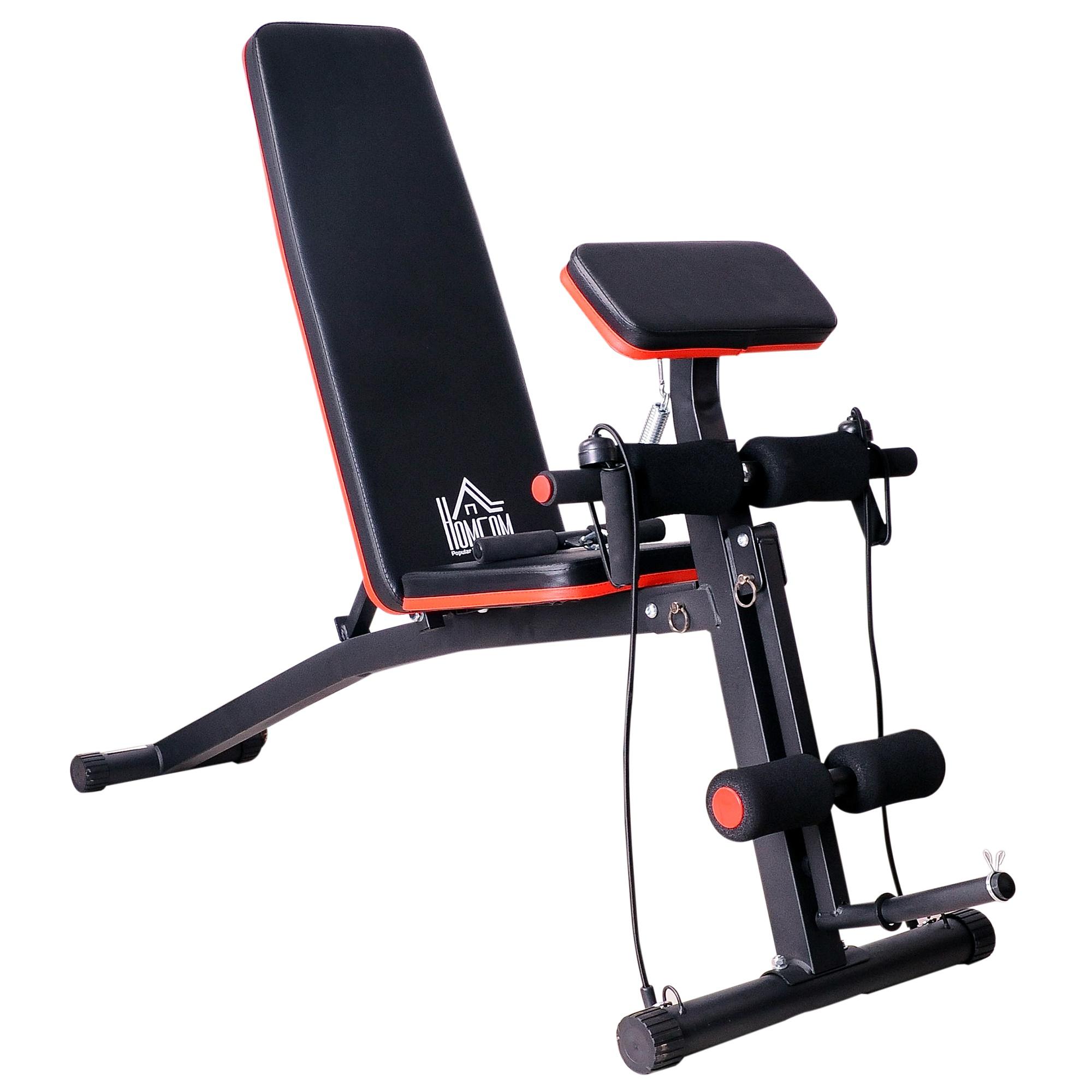 Foldable 6 Incline Adjustable Workout Dumbbell Bench for £51.99 delivered using code (UK Mainland only) @ eBay/2011homcom