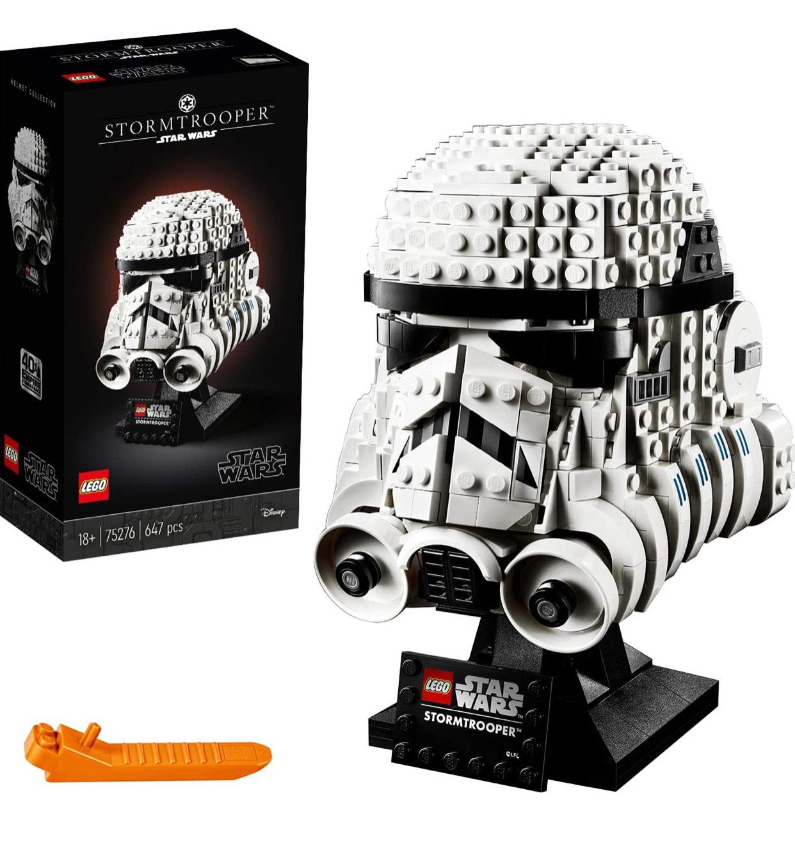 LEGO Star Wars 75276 Stormtrooper Helmet Display Building Set £44.98 at Amazon