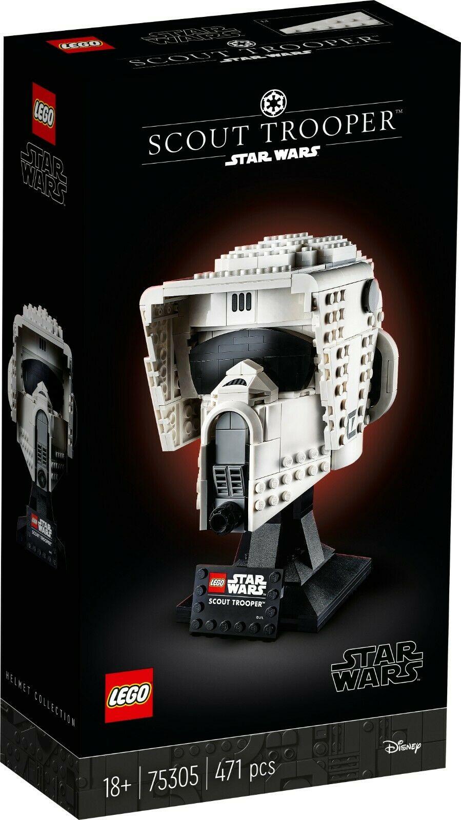 LEGO Star Wars 75305 Scout Trooper Helmet £35.99 ebay / toybarnhaus