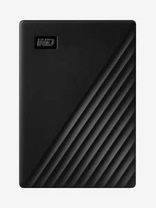 WD 4 TB My Passport Portable Hard Drive with Password Protection and Auto Backup Software - Black £78.38 @ Amazon