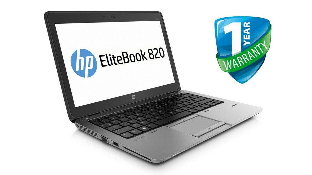 "Refurbished HP EliteBook 820 G1 laptop 12.5"", Core i5, 4GB RAM, 180GB SSD - £135.20 (UK Mainland) @ mydigitaltech_uk eBay"