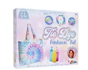 Tie Dye Fashion Kit £3.50 @ The works - £1.99 click and collect