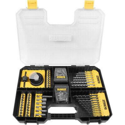 Dewalt DT71569 100 piece Drill & Screwdriver Bit Set Tstak Drawer - £23.88 with code @ Abbeypower eBay