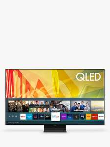 "Samsung QE65Q90T (2020) QLED HDR 2000 4K Ultra HD Smart TV 65"" + £100 giftcard Voucher (members) £1249 @ John lewis & partners"