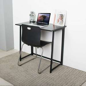 Neo Foldable compact home office laptop desk in 4 colours (Black, Natural, Walnut, White) - £31.19 delivered with code @ eBay / neodirect