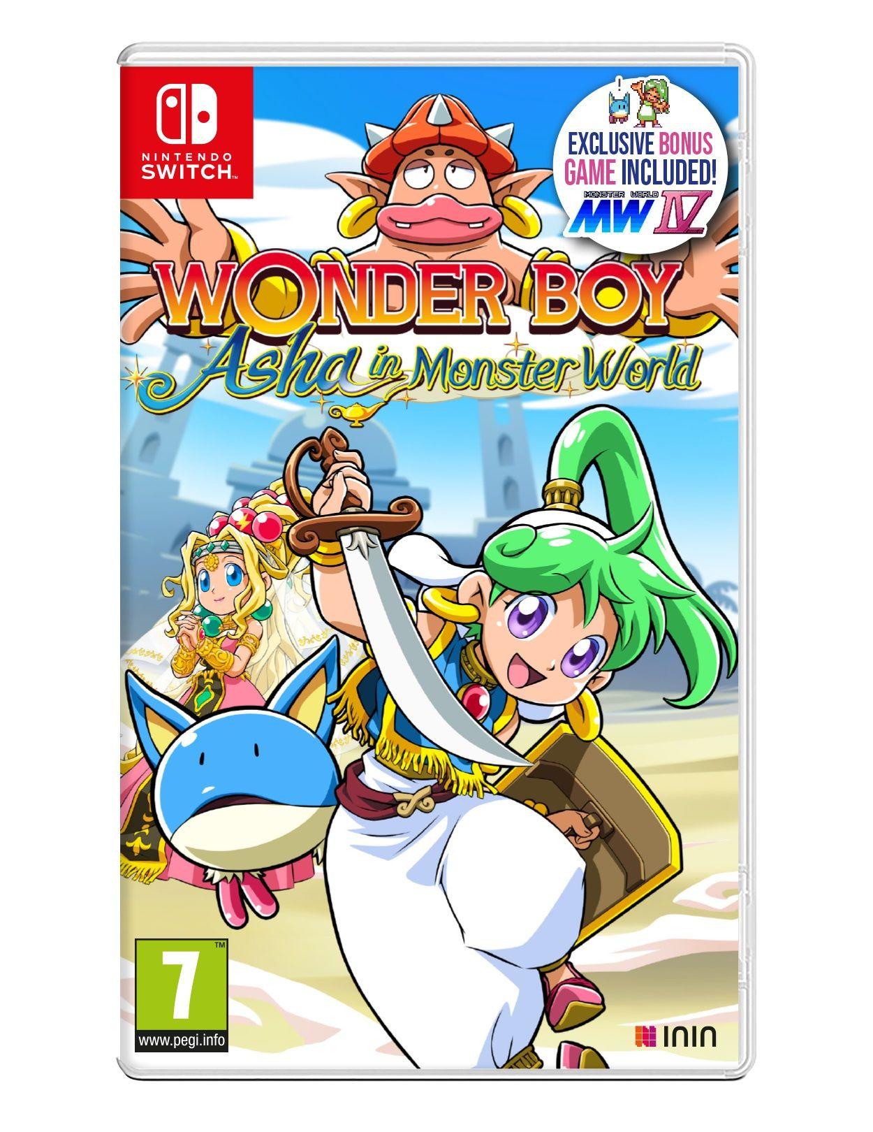 Nintendo Switch Game - Wonder Boy: Asha in Monster World - £23.99 - eBay - BossDeals