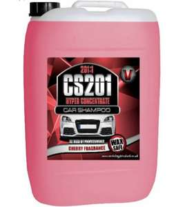 25 litre concentrate car shampoo cherry wash wax £20.39 @ ebay chem-group