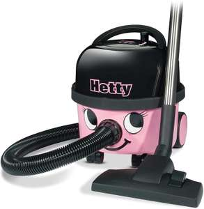 Hetty HET160 Bagged Cylinder Vacuum, 620 W, 6 Litres, Pink (Used: Acceptable) - £74.99 @ Amazon Warehouse