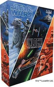 Asmodee - Unlock! Star Wars The Escape Game - Board Game £17.99 Amazon Prime / £22.48 Non Prime