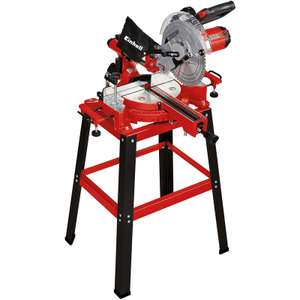 Einhell 254mm Single Bevel Sliding Mitre Saw with Stand 230V £129.99 @ Toolstation - Click and collect only - Select stores