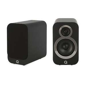 Q Acoustics Q 3010i Bookshelf Speakers (5 Years Warranty) - Carbon Black 143.20 Delivered (With Code) at Peter Tyson /eBay