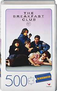 Cardinal Games The Breakfast Club 500-Piece Puzzle in Blockbuster VHS Video Case for £4 Prime delivery (+£4.49 non-Prime) @ Amazon