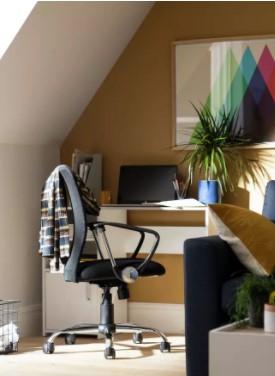 Habitat Mesh Mid Back Ergonomic Office Chair - Black £58.50 @ Argos