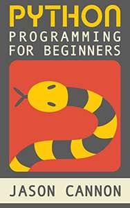 Python Programming For Beginners Kindle Edition FREE at Amazon