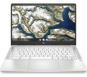 "Refurbished HP 14a 14"" Chromebook - Intel Pentium Silver, White - GRADE A refurb - £179.18 delivered UK Mainland @ Currys Clearance Ebay"