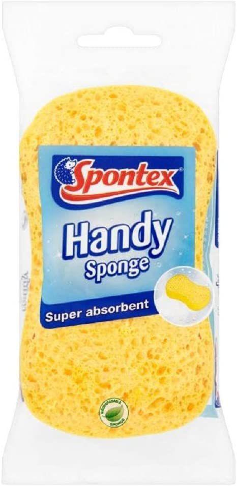 Spontex Handy Sponge, Pack of 1 £1 Prime (£4.49 p&p non prime) 20% voucher and 10% s&s 70p @ Amazon