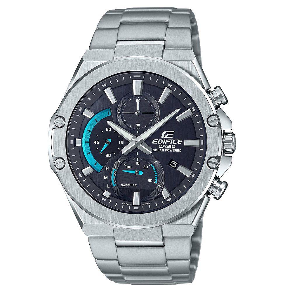 Casio Edifice Solar Powered Sapphire Crystal Chronograph Slim Case Watch, £71.99 at H.Samuel