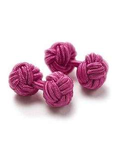 Cerise Knots (alternative to cufflinks) £1 - £2 delivered, using code (Various Colours) @ T.M Lewin