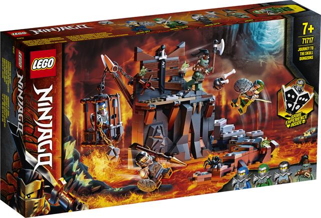 Lego Ninjago 71717 Journey to Skull Dungeons instore - B&M, Wolstanton - Stoke on Trent