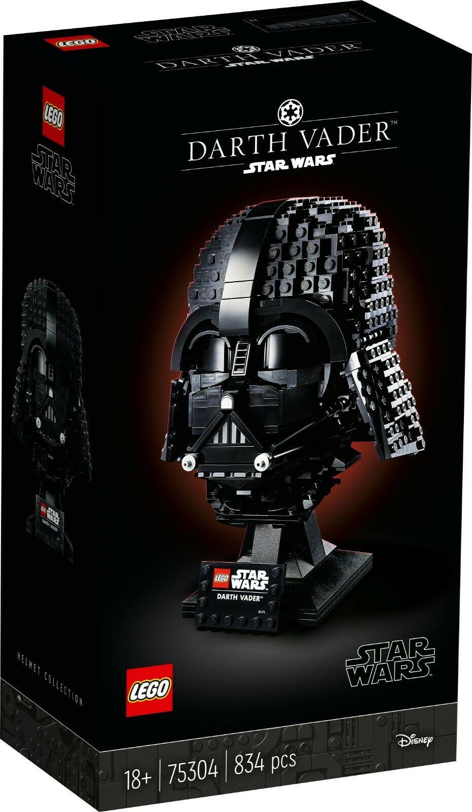 LEGO Star Wars Darth Vader Helmet 75304 £47.11 at toybarnhaus ebay