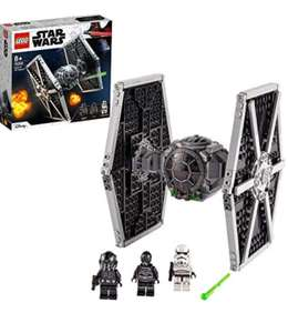 LEGO 75300 Star Wars Imperial TIE Fighter Toy + Stormtrooper/ Pilot Minifigures from The Skywalker Saga - £26.97 UK Mainland at Amazon Spain
