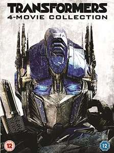 Transformers: 4-Movie Collection [DVD] £3.02 Prime (+£2.99 Non Prime) Sold by A ENTERTAINMENT and Fulfilled by Amazon