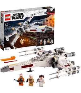 LEGO 75301 Star Wars Luke Skywalker's X-Wing Fighter Toy with Princess Leia and R2-D2 Droid Figure - £32.67 at Amazon Spain