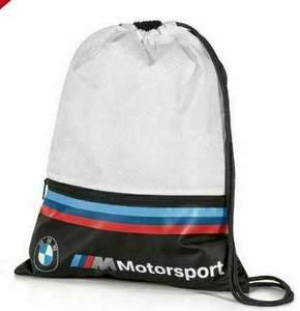 BMW M Motorsport sports bag £7.50 at ebay bmwbluebellcrewe