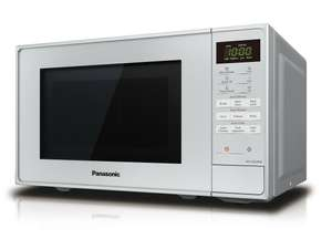 Panasonic NN-E28JMMBPQ 800W Standard 20L Microwave Silver £63.99 delivered with code @ panasonic_outlet / ebay