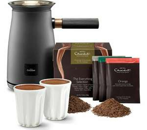 Hotel Chocolat HC01 Velvetiser Hot Chocolate Machine - Charcoal or Copper - £72.68 delivered UK Mainland @ Currys / eBay