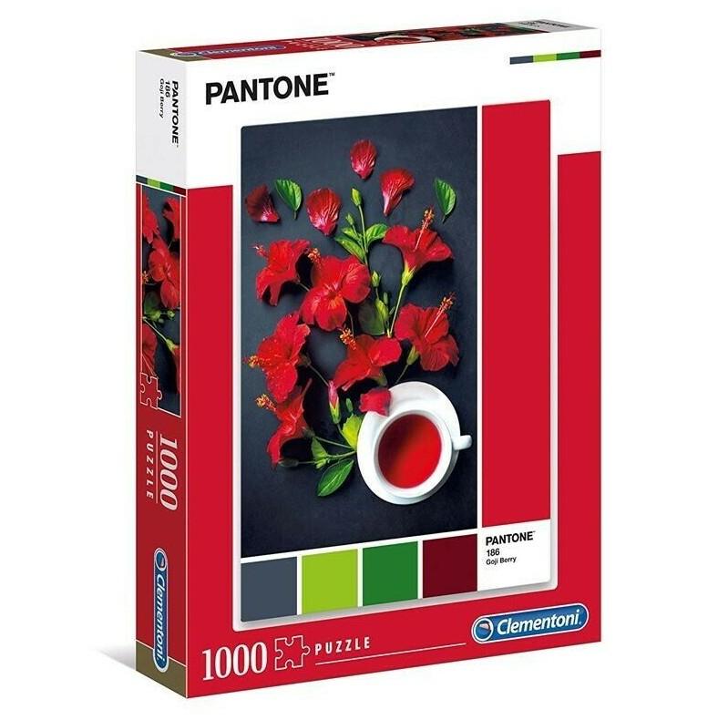 Clementoni Pantone - Red Hibiscus 1000 Piece Puzzle £3.81 Prime / £8.30 Non Prime at Amazon