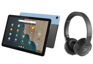 LENOVO IdeaPad Duet Chromebook & Wireless Noise-Cancelling Headphones Bundle £299 at Currys PC World